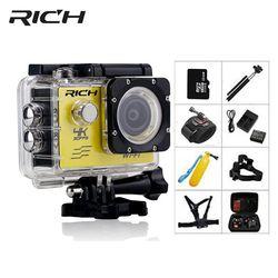 Богатая экшн-камера HD wifi 1080 P go 2,0 дюймов pro Подводные камеры 30 м Водонепроницаемая мини Спортивная камера фото наружная Экшн-камера