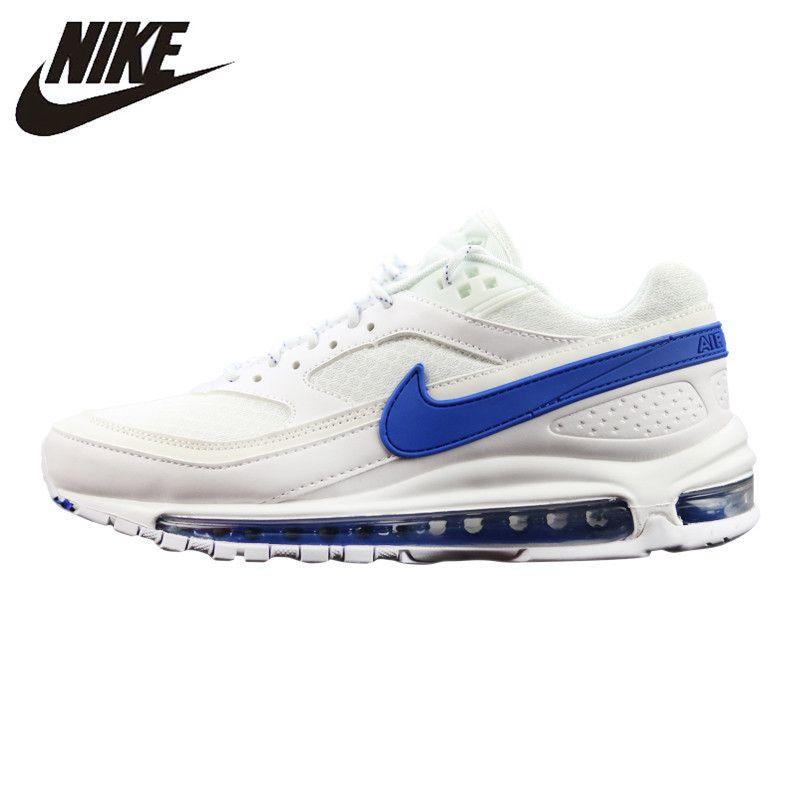 Nike Air Max 97 BW männer Laufschuhe Schock-Absorbieren Atmungsaktiv Turnschuhe Nicht-Slip Leichte # AO2113-100