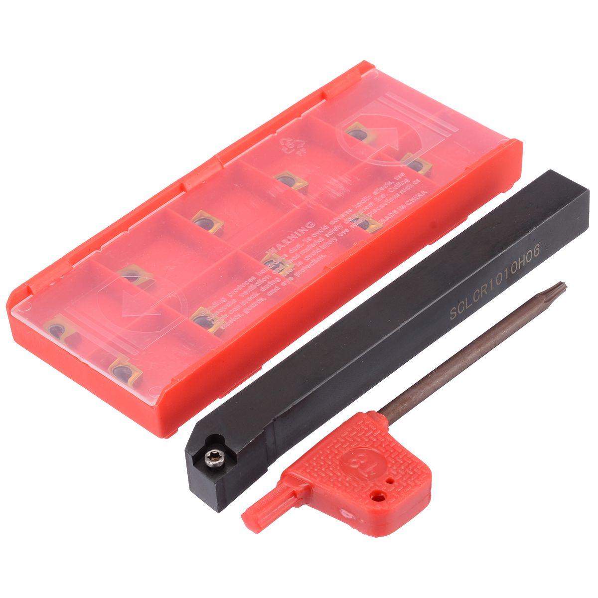 1 stück SCLCR1010H06 Werkzeug Halter Langweilig Bar + 10 stücke CCMT0602 Einsätze Für CNC Drehmaschine Drehen Werkzeug