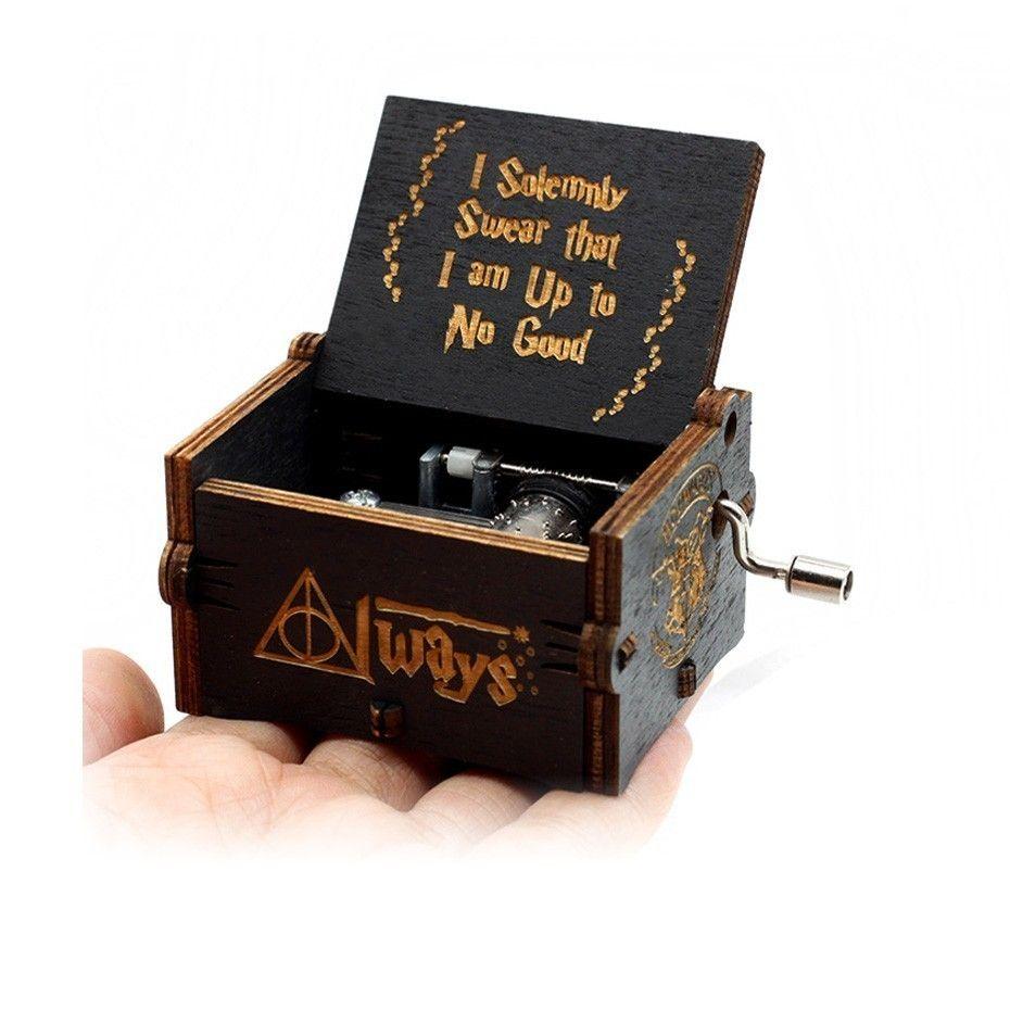 Antique Engraving Music Box New Year Gift, Birthday Present, Christmas Gift Theme Music