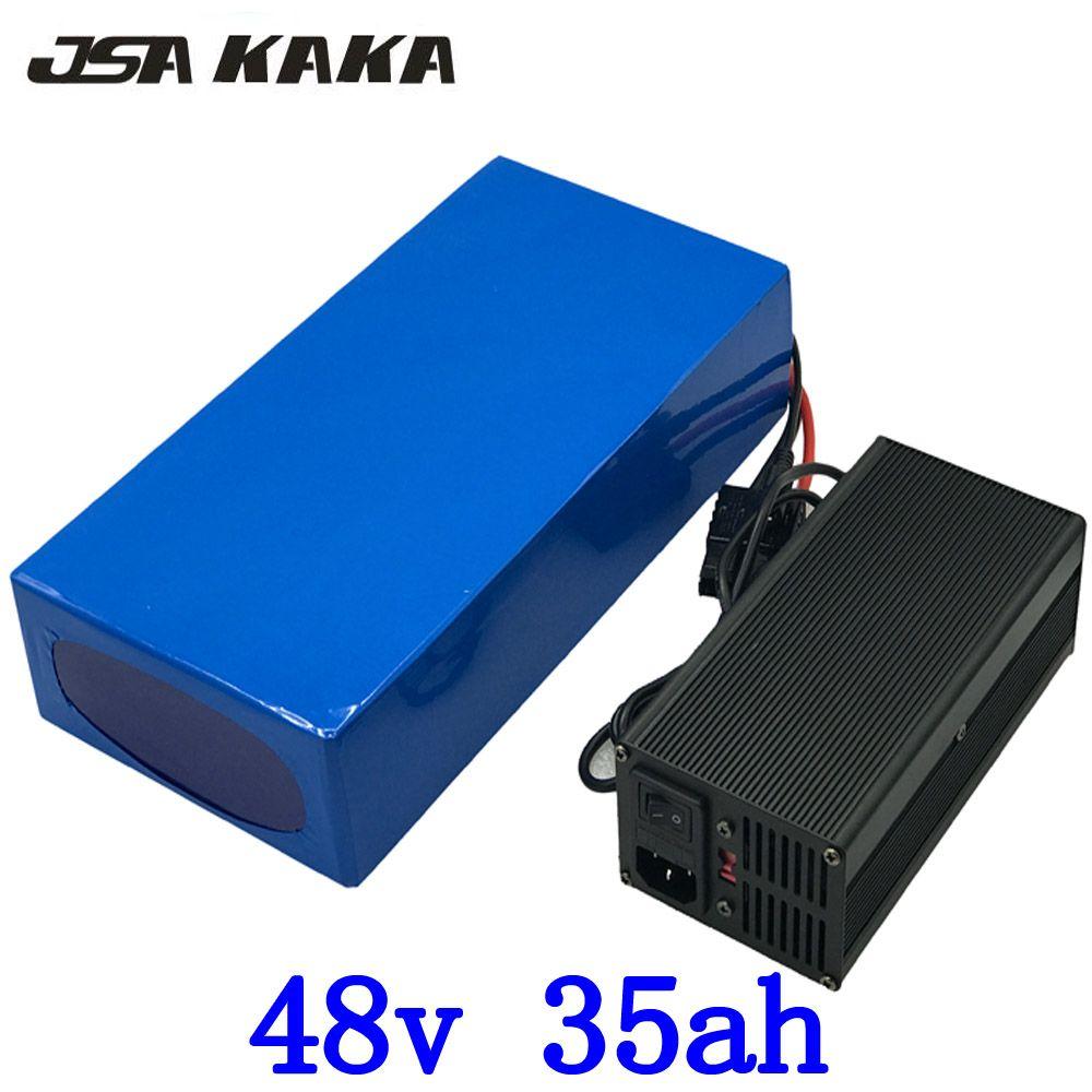 48 V 1000 W 1500 W 2000 W batterie 48 V 35AH ebike batterie 48 V 35AH elektrische roller batterie 48 V roller batterie mit 54,6 V 5A ladegerät