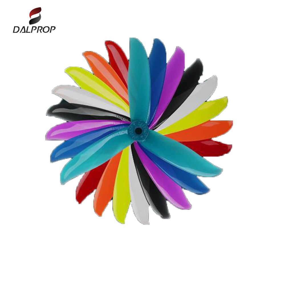 6 Pairs DALPROP CYCLONE T5047C 5047 5*4.7*3 3-blade POPO Propeller CW CCW For RC Drone FPV Racing RC Models Spare Part DIY Accs