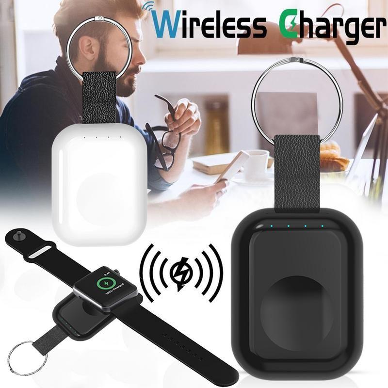 W4 Neue Für Apple Uhr 1 2 3 4 Drahtlose Ladegerät Power Bank Für Apple Uhr Drahtlose Ladegerät Für IWatch 4 serie Halterung 700 mah