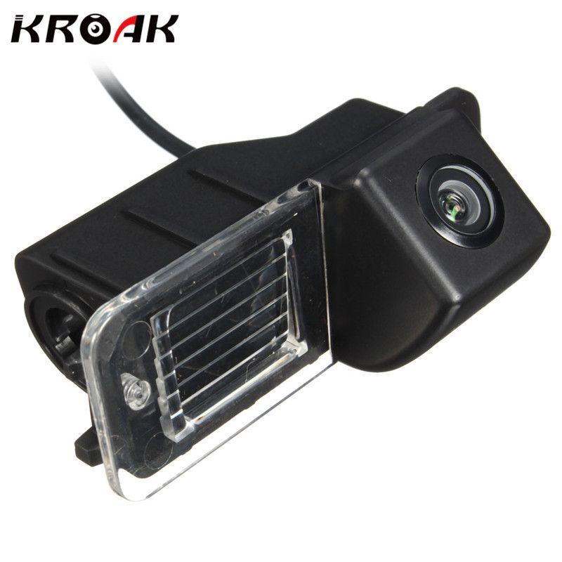 Kroak Auto Rückansicht Rückseite Reverse Kamera Für Volkswagen Für VW/Für Polo V/Golf 6/Passat CC 2008-2014 Nachtsicht