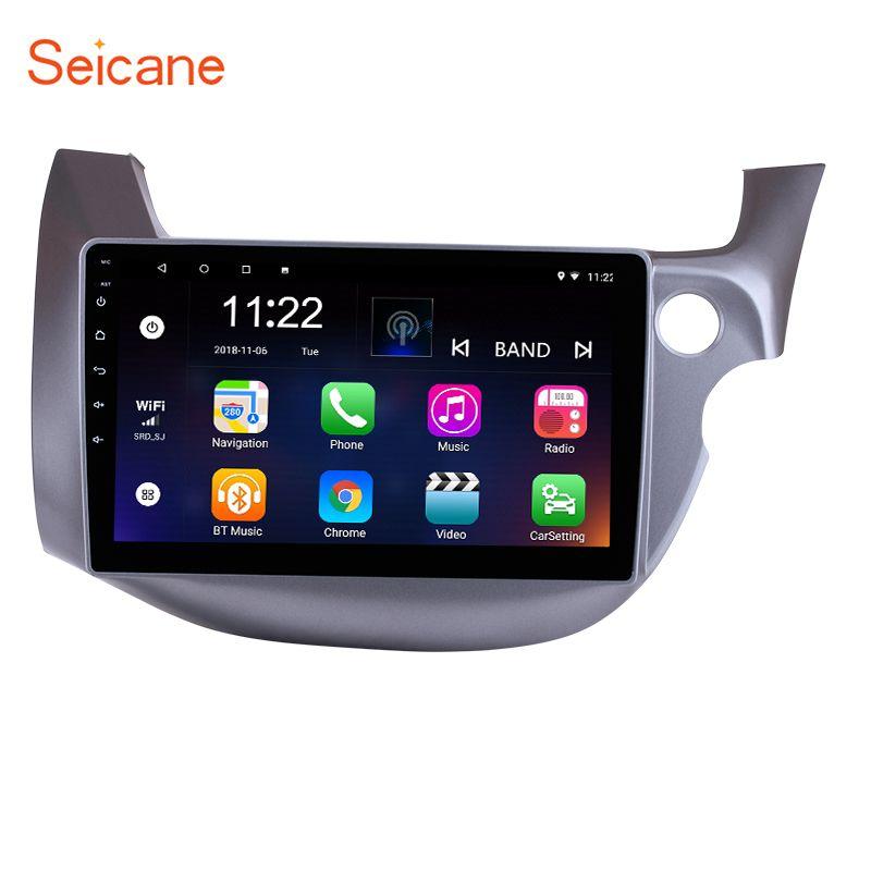 Seicane 10,1 Android 8.1 2din Auto Head Unit Radio Player GPS Navigation Für 2007 2008 2009 2010 2011-2016 HONDA FIT JAZZ RHD