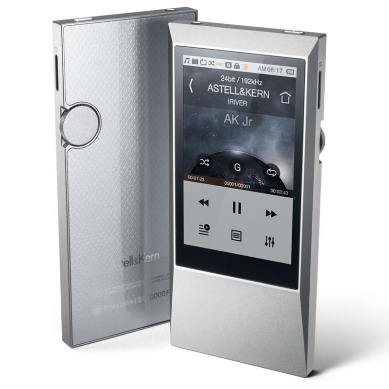 Original IRIVER Astell&Kern AK Jr 64GB HIFI PLAYER Portable DSD MUSIC MP3 Audio Player Lossless music MP3 Gift The Leather case
