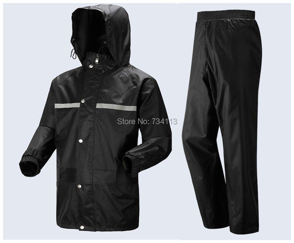 Imperméable costume grande taille moto vélo pluie costume hommes et femmes vêtements de pluie lâche poncho pêche camping extérieur pluie vêtements