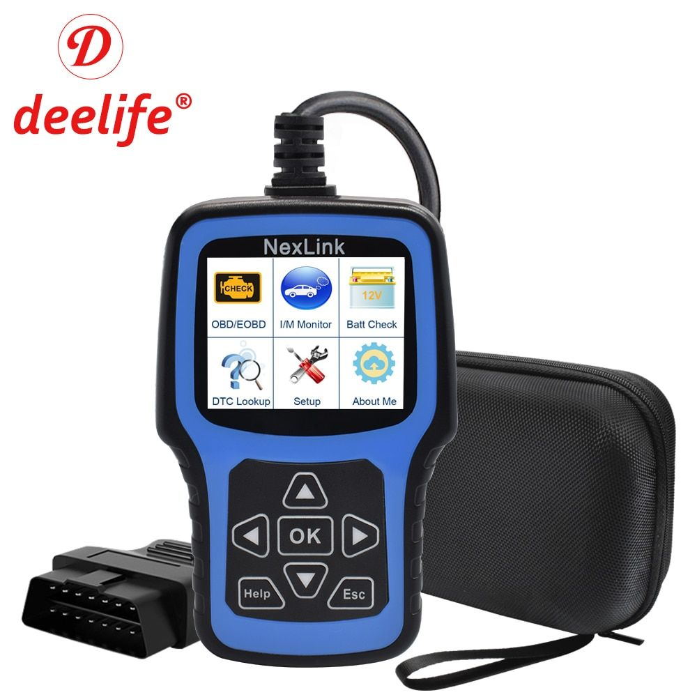 Deelife Car Diagnostic Tool OBD2 Scanner Automotive Diagnosis OBD 2 Auto Professional Code Reader for ODB II ODB2 EOBD OBDII
