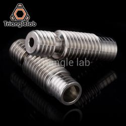 high quality GRADE5 V6 titanium alloy heat break TC4 for E3D V6 HOTEND heater block 1.75MM Filament Smooth