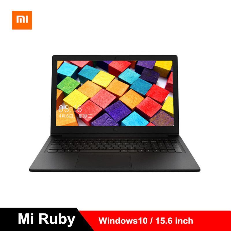 2019 Xiao mi mi Rubin 15,6 zoll Laptop Windows10 i5-8250U Quad Core Notebook 8 GB RAM 512 GB SSD 1,6 GHz GeForce MX110 PC