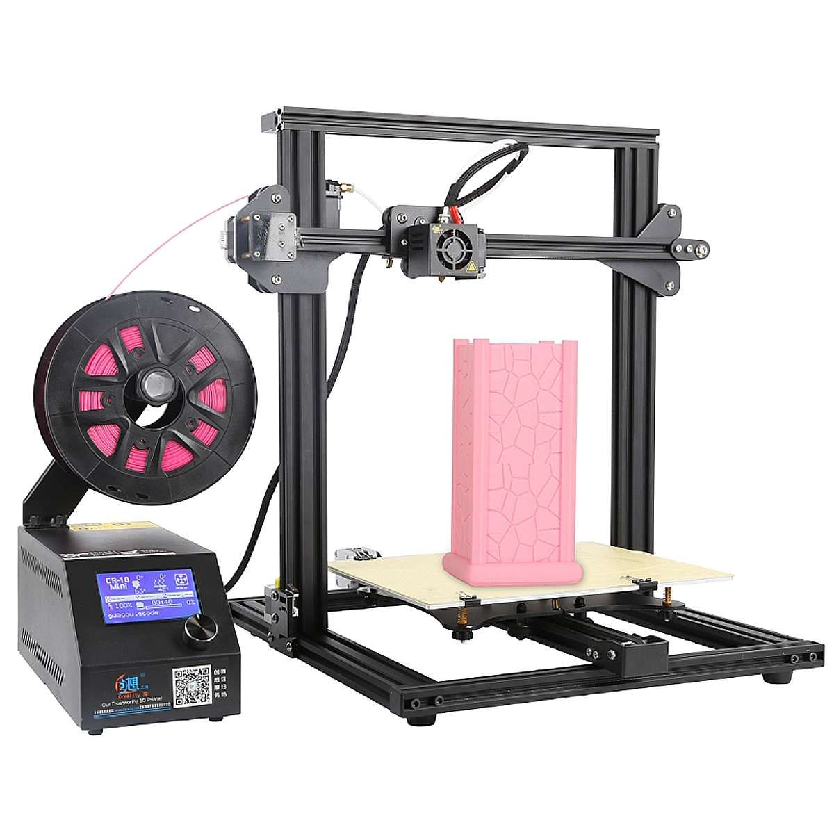 CR-10 Mini DIY 3D Printer Kit Support Resume Print 300*220*300mm Large Printing Size 1.75mm 0.4mm Nozzle