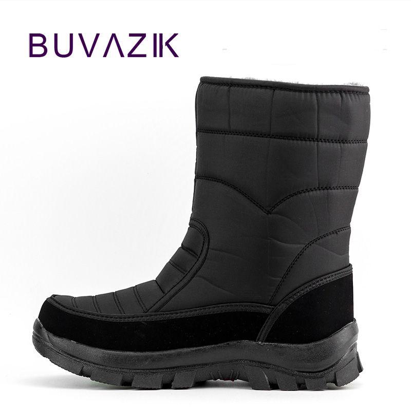 2017 hommes bottes de chasse imperméables épaississement thermique neige bottes en plein air chaud fourrure chaussures militaire désert bottes mâle
