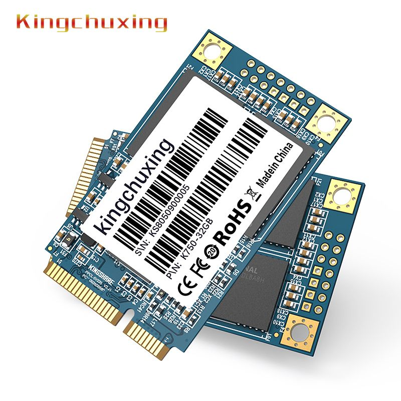 Disque dur SSD mSATA interne à semi-conducteurs 32 GB 64 GB 128 GB 256 GB 512 GB 1 to Mini PCIE 6 Gb/s pour ordinateur portable Kingchuxing