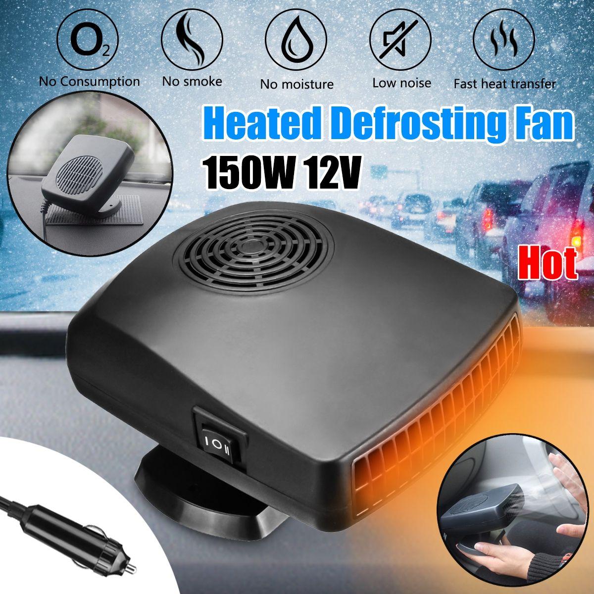 12 V 150 W Defroster Winter Heizung Fan Tragbare Automobil Demister Wärmer Elektrische Auto Heizung Heizung Lüfter Demister