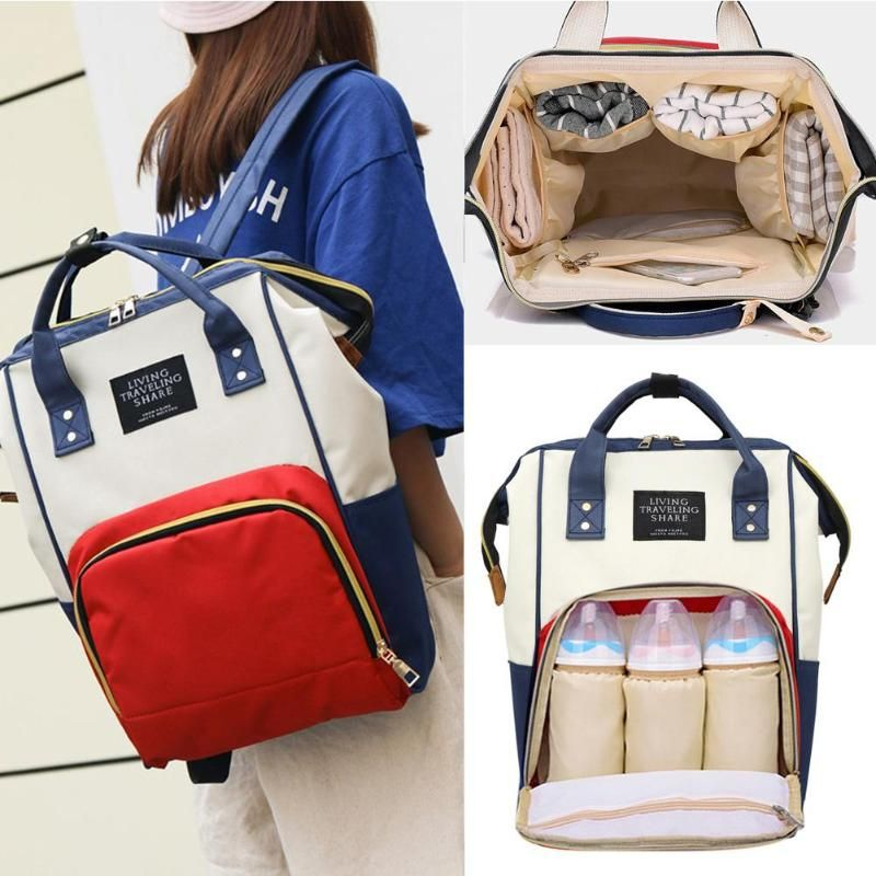 2018 Mummy Maternity Backpacks Nappy Bag Brand Oxford Large Capacity Baby Bag Travel Backpack Designer Nursing Bag Diaper Bag
