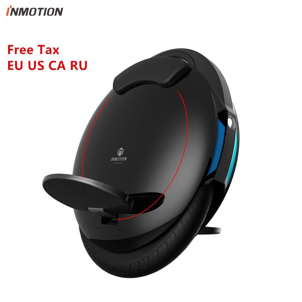 Inmotion SCV V5F Selbst Balance Roller Elektrische Hoverboard Monowheel Ein rad Einrad EUC Internationalen Version Kostenloser Steuer auf EU