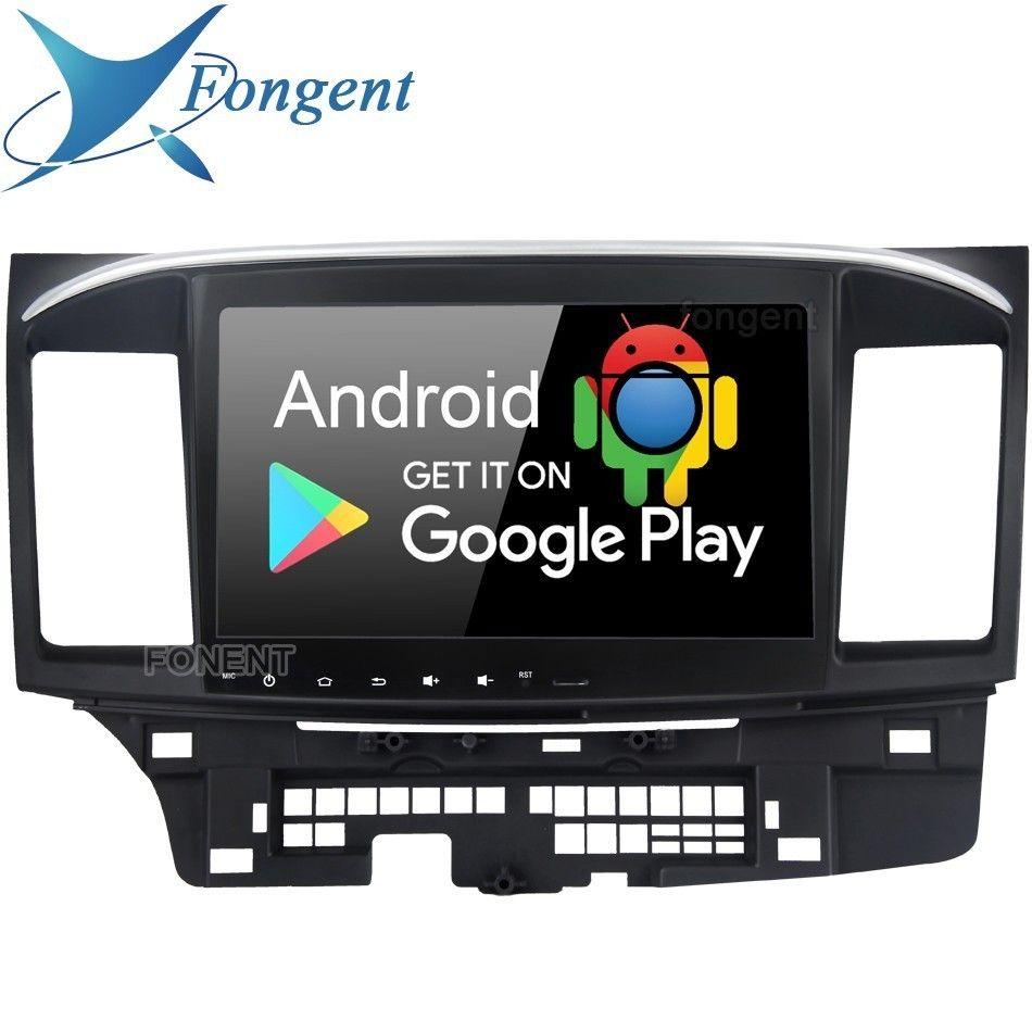 Android 9.0 Kopf Einheit Für Mitsubishi Lancer Ex Evo Galant Auto Radio 2 Din Gps Navigation System Multimedia Dsp Ips Rds PX6 IPS