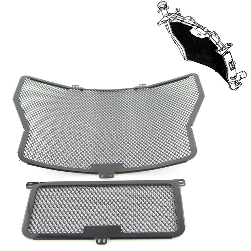 Motorcycle Radiator Guards Oil Cooler Grill Protector Guard For Bmw S1000RR 2009-2016 S1000XR 2015 2016 S1000R 2014 2015 2016