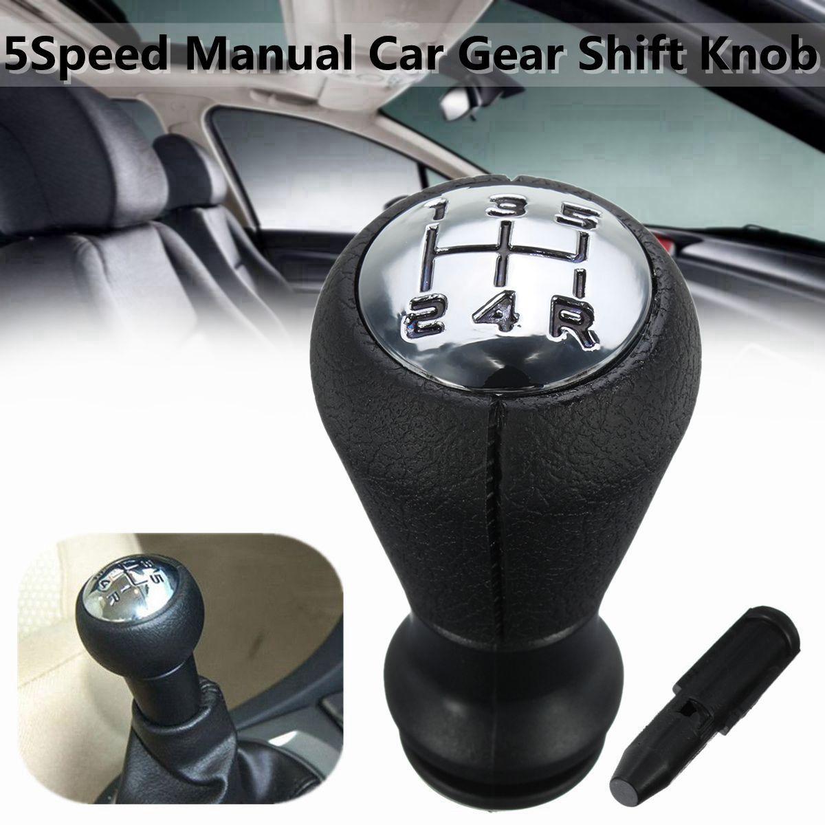 5 geschwindigkeit Auto Schaltknauf Kopf Stick Hebel Shifter Sleeve Adapter Für Peugeot 106 206 306 406 806 107 207 307