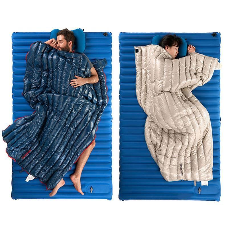 Unten Schlafsack Leichte Umschlag Warme Gespleißt Schlafsack für Erwachsene Im Freien Trekking Camping Wandern