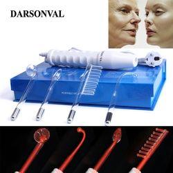 DARSONVAL Портативный Электрод высокочастотное средство для удаления акне массажер кожи для лица косметическое средство для лица спа салон дом...