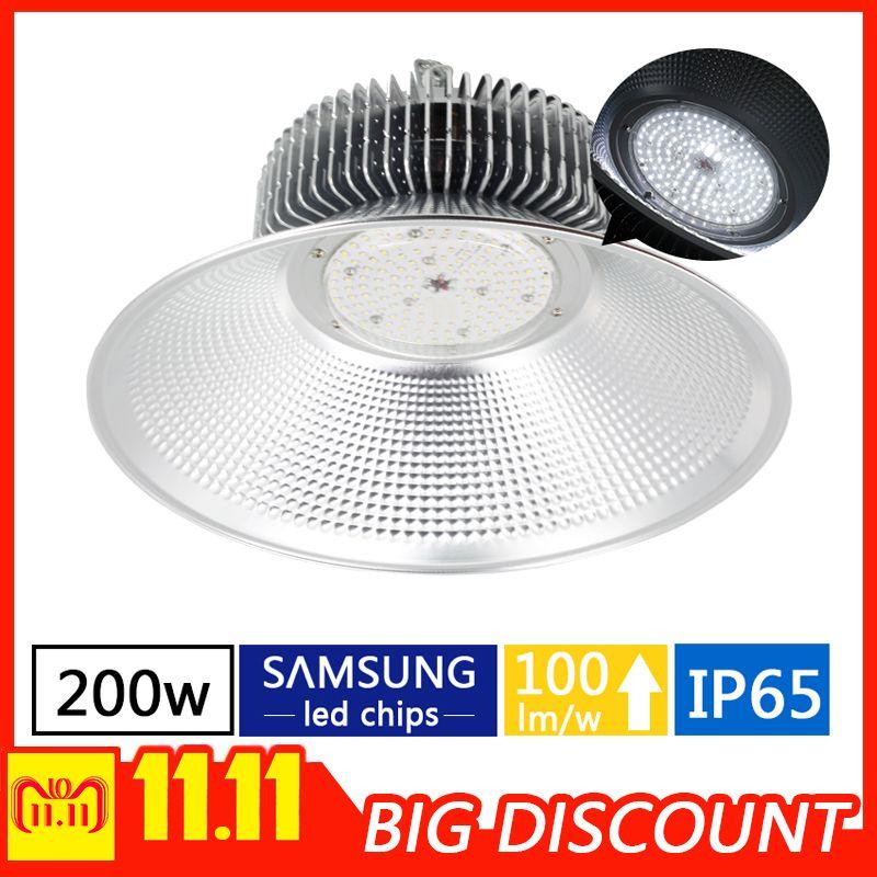 200 watt LED high bay lampe lager fabrik innen industrielle beleuchtung garage beleuchtung industrielle maschinen öffentlichen beleuchtung power