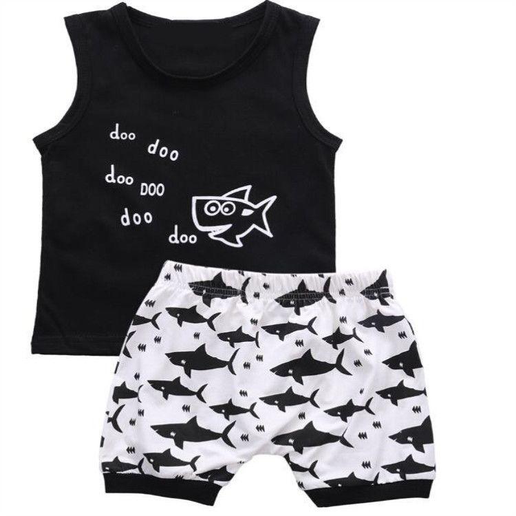 Marque bébé vêtements Designer nouveau-né vêtements 2019 été bébé filles et garçons costumes à manches courtes T-shirt + Shorts ensembles de vêtements