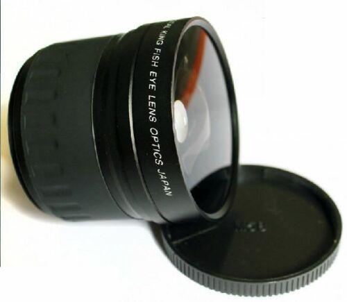 JINTU 58mm 0.21x objectif grand Angle Fisheye haute résolution pour CANON EOS rebelle 700D 650D 600D550D 500D 450D 400D 350D 100D