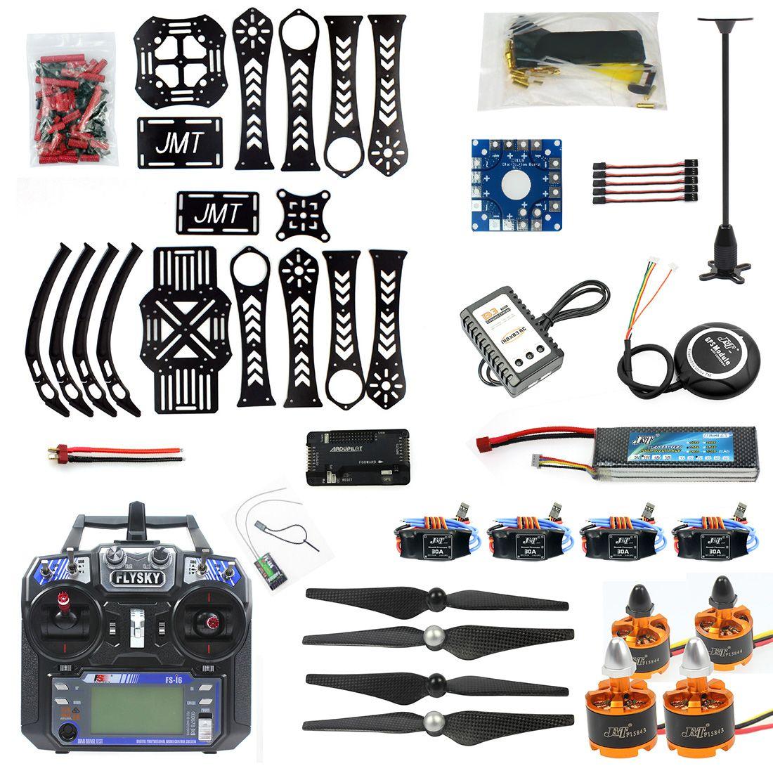 DIY RC Drone Quadrocopter X4M360L Rahmen Kit mit GPS APM 2,8 RX TX ARF F14892-B