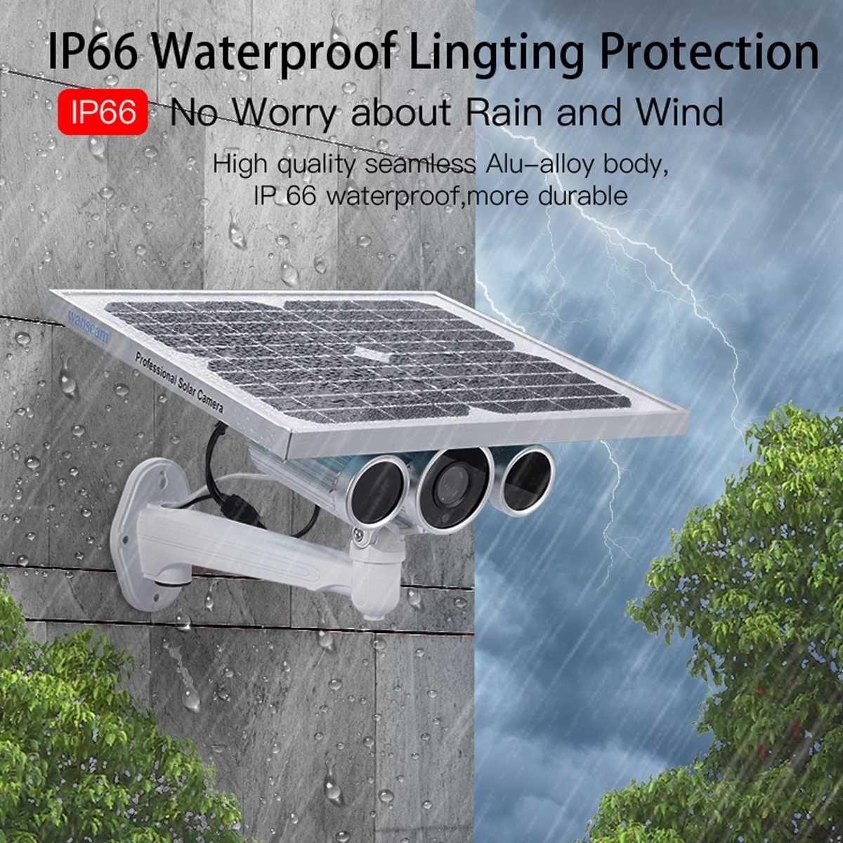 2019 Solar Power Wireless Video Überwachung Sicherheit IP Kamera WiFi 4G 1080 P Outdoor P2P Motion Erkennung CCTV Kamera