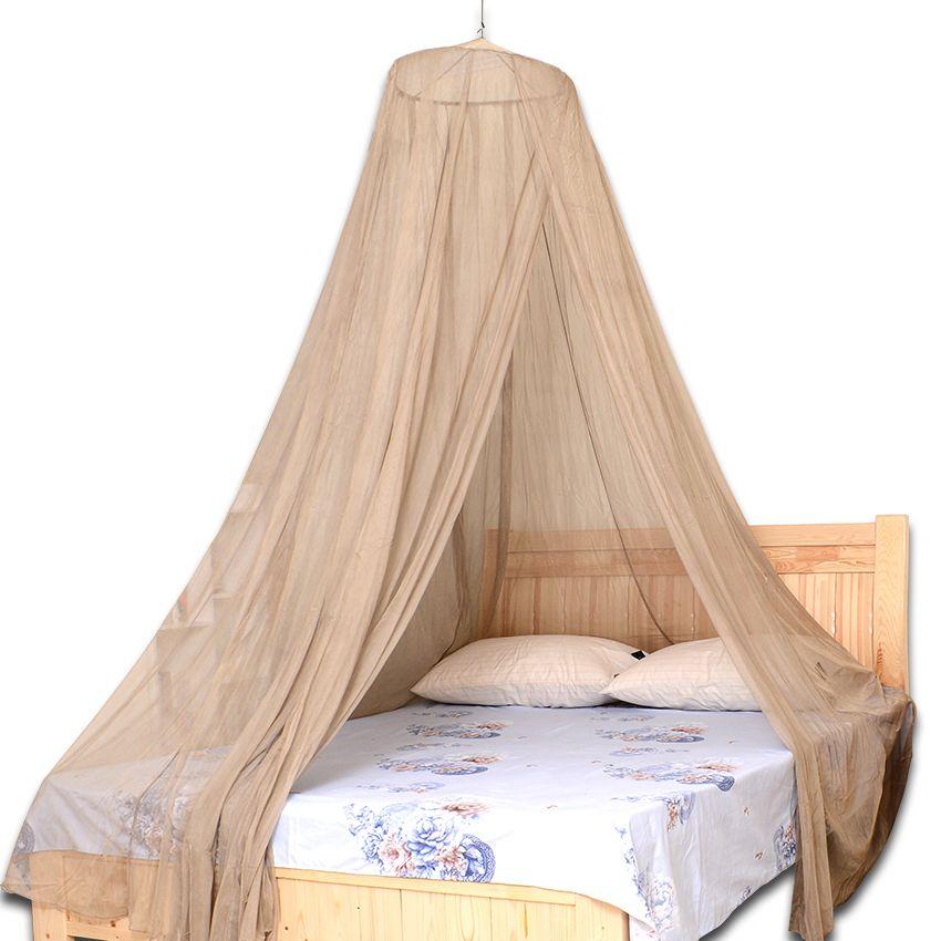 100% silber Faser Hing Kuppel Moskito Net Bett Baldachin 002