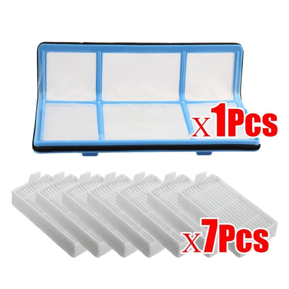 D'origine 1 xPrimary filtre + 7x Efficace Hepa Filtre pour chuwi ilife v5 v5s V3 V3s v5 pro V50 V55 x5 robot aspirateur Pièces