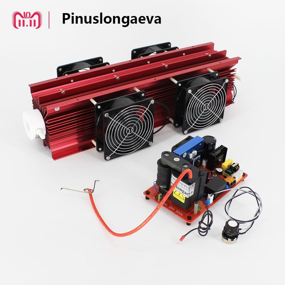 Pinuslongaeva 20g 40g 60g/h adjustable Quartz tube type ozone generator Kit swimming pool ozone instead of chlorine disinfection