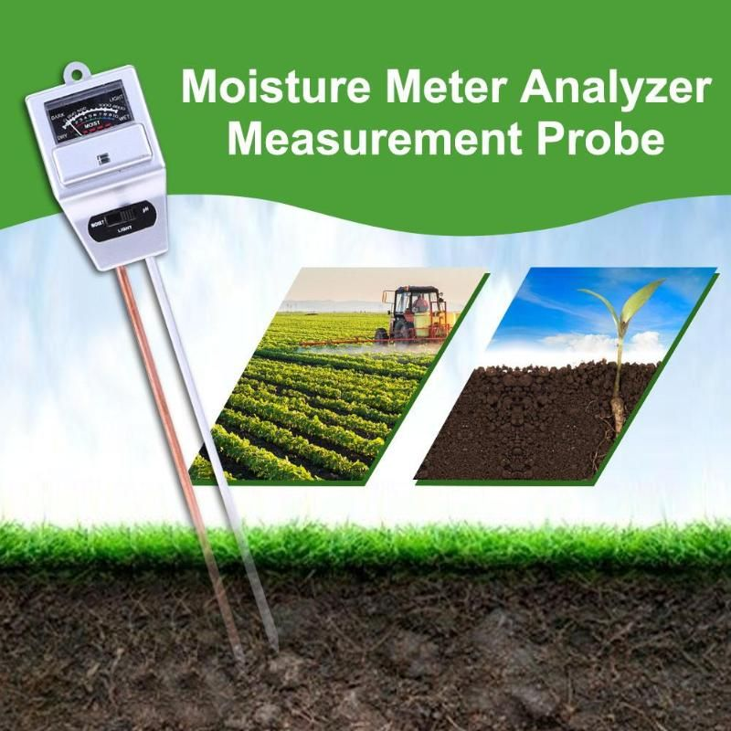 Boden PH-Meter Wasser Feuchtigkeit licht Tester Digitale Analyzer Test Detektor für Garten Pflanze Blume Hydrokultur Garten Werkzeug PH Meter