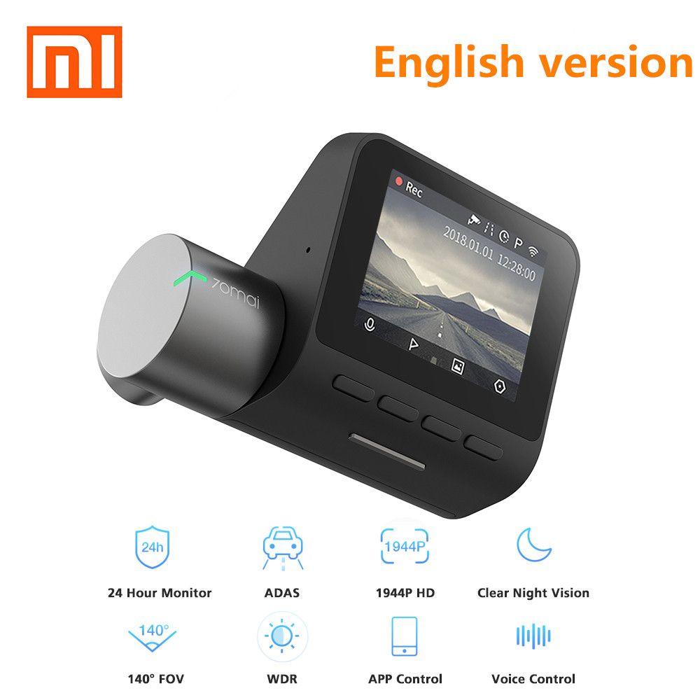 XIAOMI 70mai Dash Cam Pro 1944P HD Car DVR Camera IMX335 140 Degree FOV Function Advanced Driver-assistance System App Controll