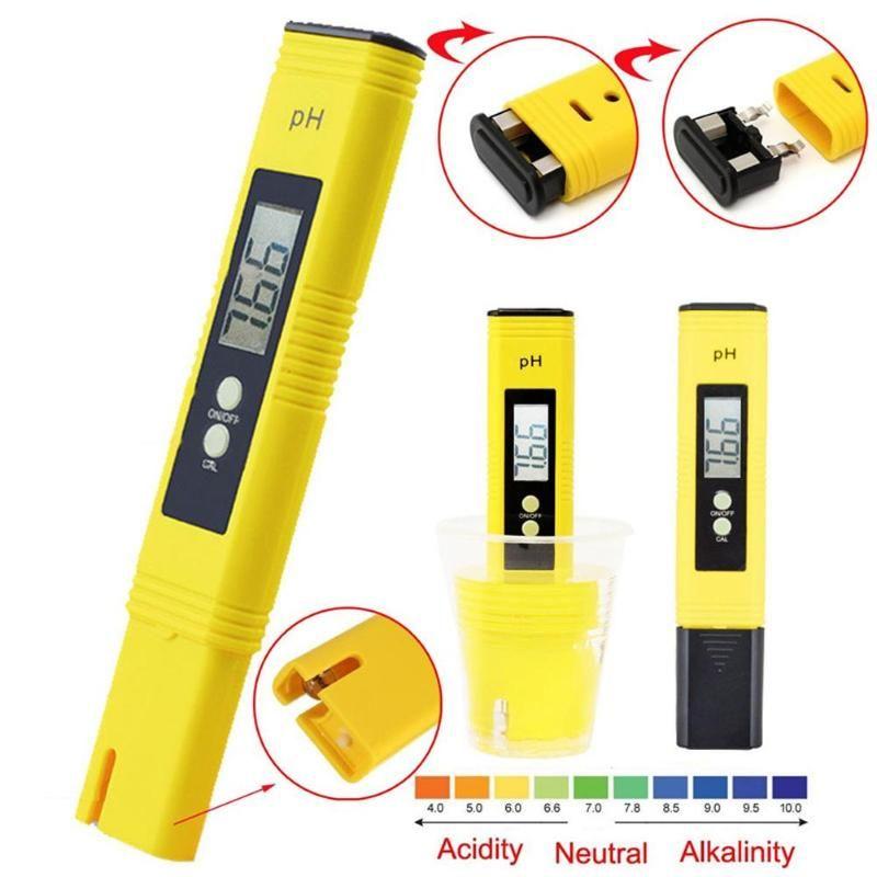 0,01 Digitale PH Meter Tester für Wasser Qualität, Lebensmittel, Aquarium, pool Hydrokultur Tasche Größe PH Tester Große LCD Display