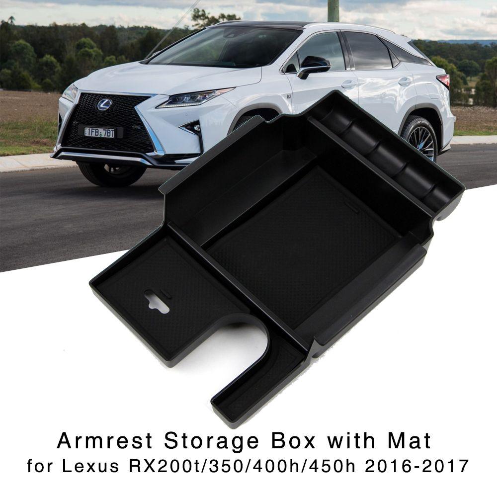 Armlehne Storage Box für 2016 2017 Lexus RX200t RX350 RX400h RX450h Zentrale Konsole Handschuh Halter Organizer Fach
