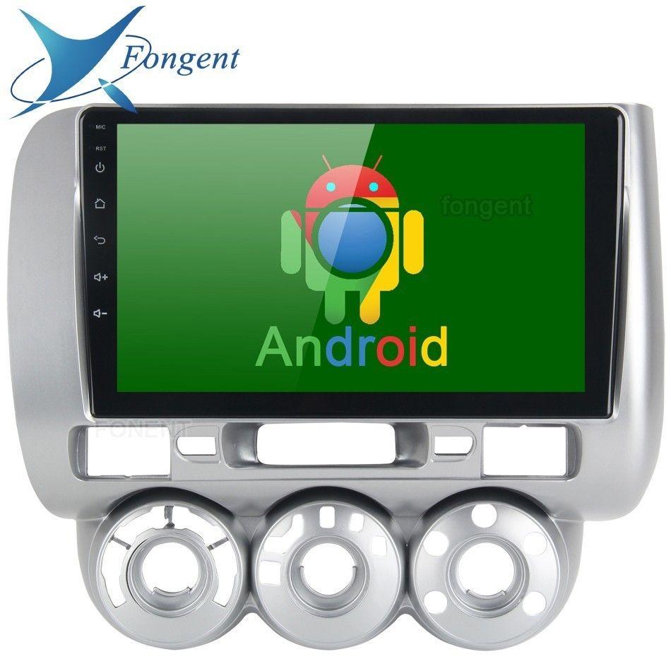 Android Unit Auto Radio GPS Navigator Intelligente Multmedia für Honda JAZZ FIT 2002 2003 2004 2005 2006 2007 2008 Manuelle AC LFD