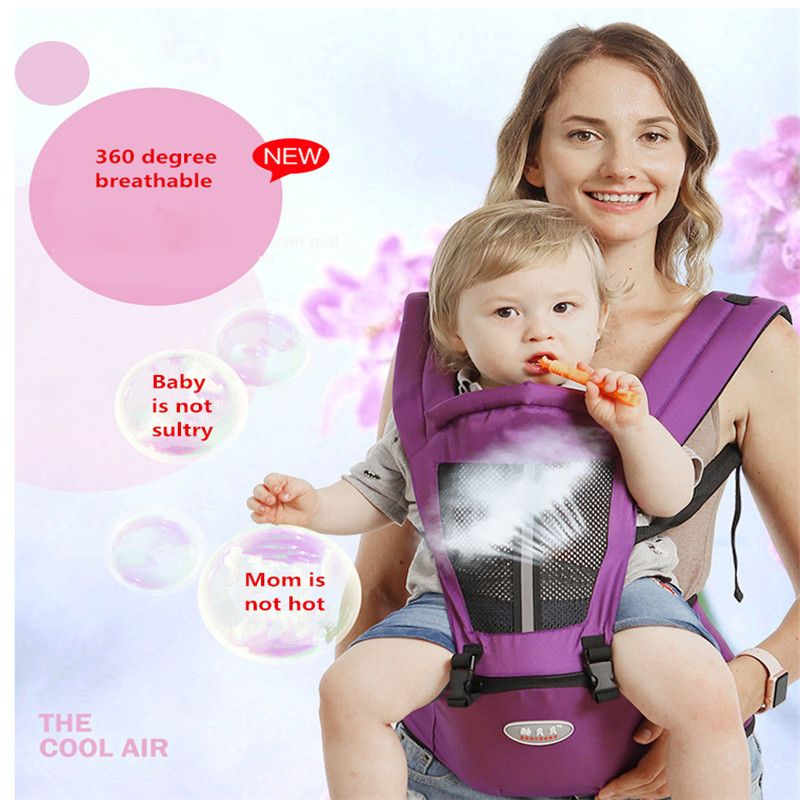 PUDCOCO New Baby Carrier Bag Waist Stool Walker Baby Sling Belt Kids Infant Hold HipSeat