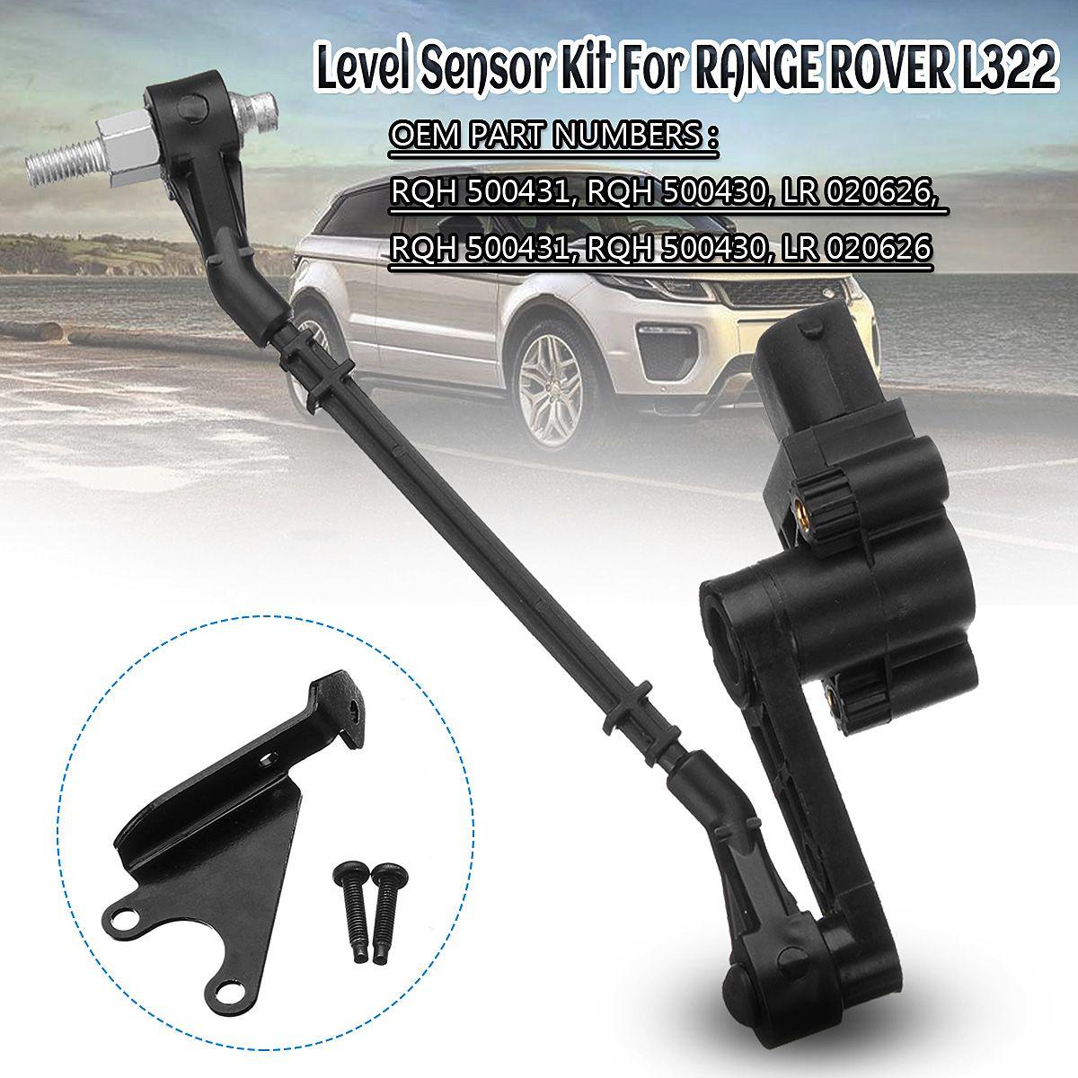 Vorne Rechts Vorne Links Luftfederung Höhe Level Sensor LR020626 Für Range Rover L322 RQH500421 RQH500420 RQH500431 RQH500430