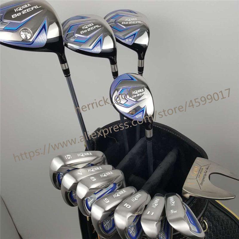 Women's golf clubs HONMA BEZEAL 525 Golf Irons Ms. Golf Club Graphite Golf Club L Bending NO bag Free Shipping