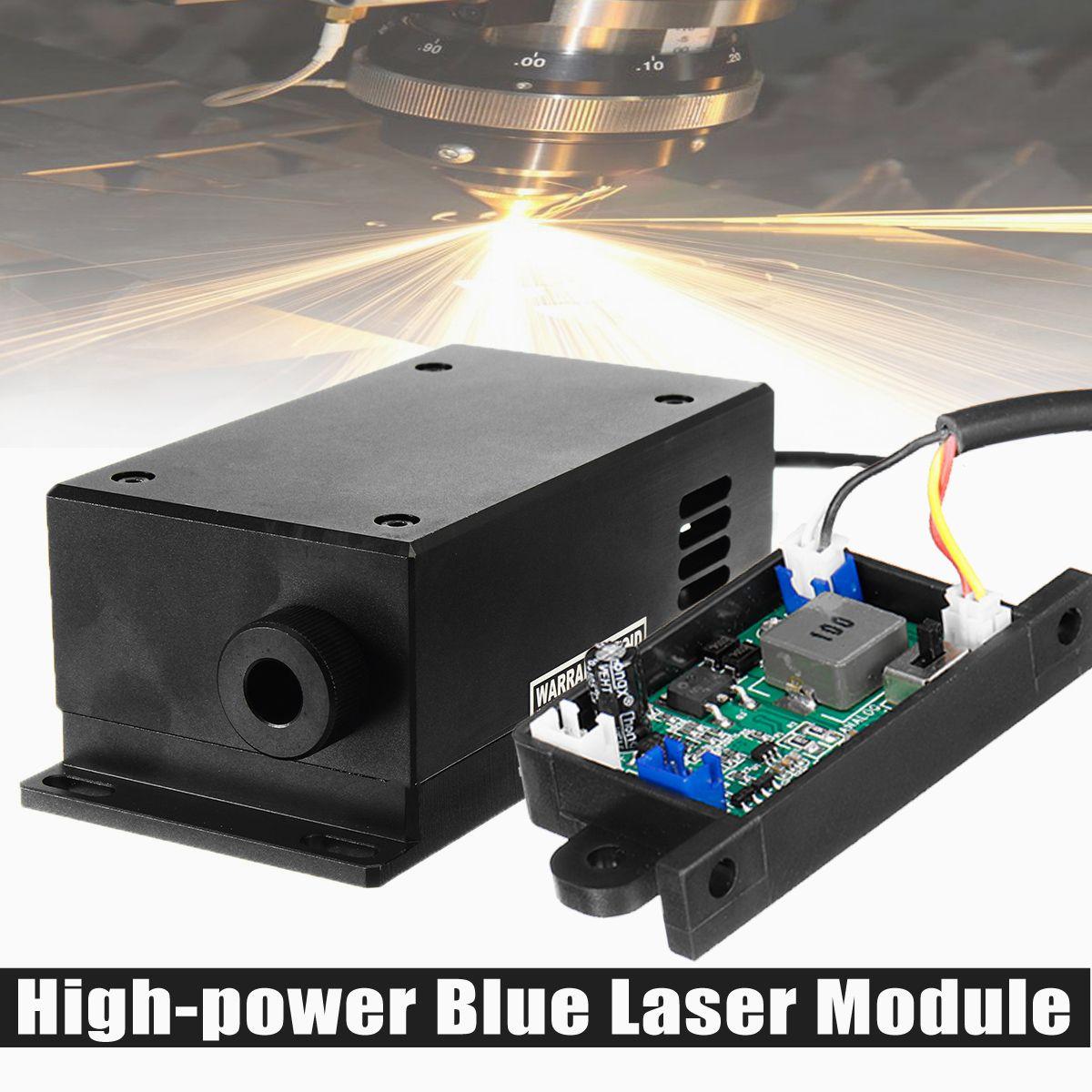 17 W High Power Laser Kopf Gravur Modul Einstellbare Brenn 450/445nm 17000 mw Blau Laser Modul DIY Holz metall Gravur Maschine