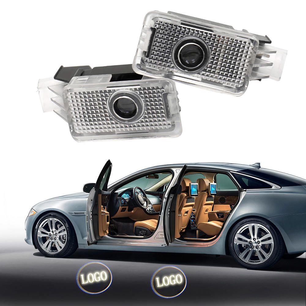2 PCS Auto Tür Willkommen Projektor Schatten LED Licht Für Honda Acura RLX 2013-2015 MDX 2007-2017 TL 2009-2012 ZDX TLX