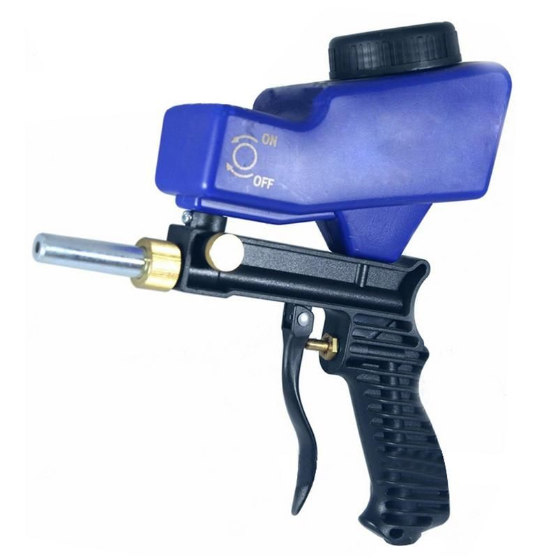 Pistolet de sablage par gravité Portable ensemble de sablage pneumatique dispositif de sablage par rouille petite Machine de sablage