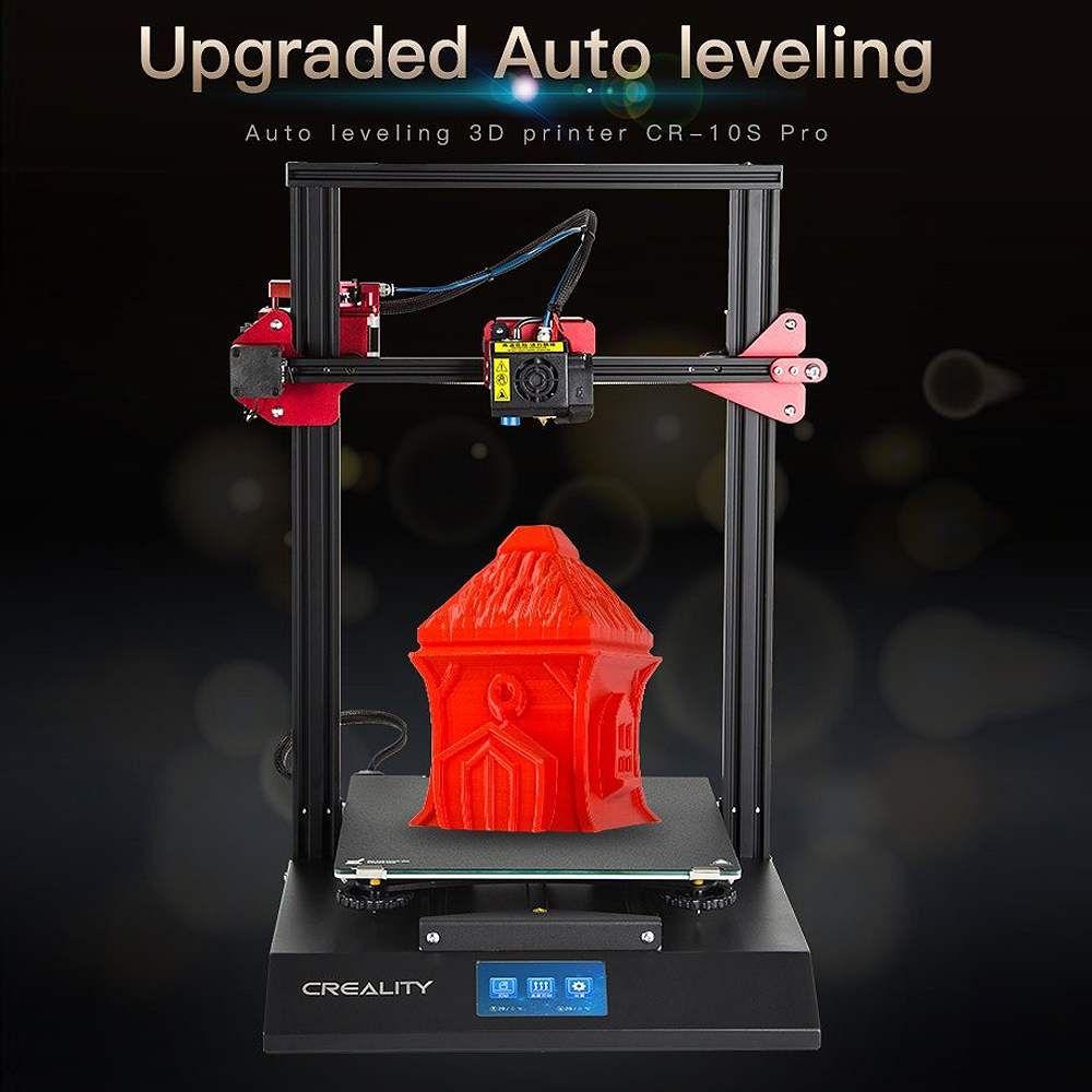 Creality 3D CR-10S Pro DIY 3D Drucker Kit 300*300*400mm Druck Größe Bunte für Touch LCD lebenslauf Druck Filament Erkennung