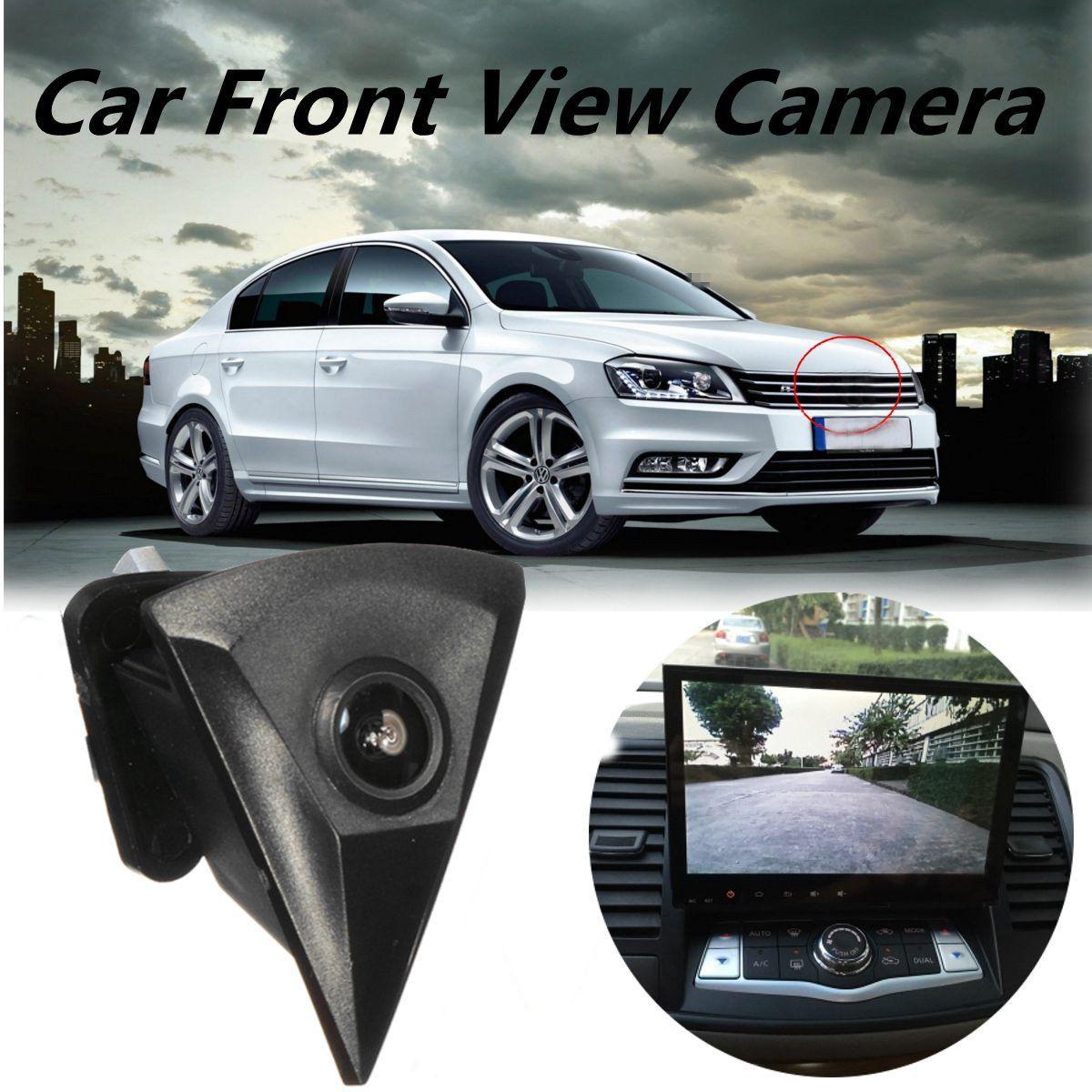 Auto Front View Kamera für Volkswagen GOLF Jetta Touareg Passat für Polo Tiguan Wasserdichte 170 Breite Grad Logo Embedded Für VW