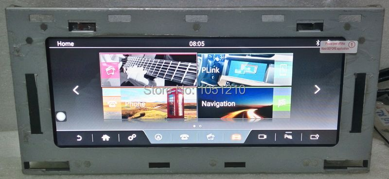 Ouchuangbo 10,25 auto audio gps radio für Land Range Rover Sport L494 2013-2016 unterstützung android 7.1 wifi USB 2 GB + 32 GB