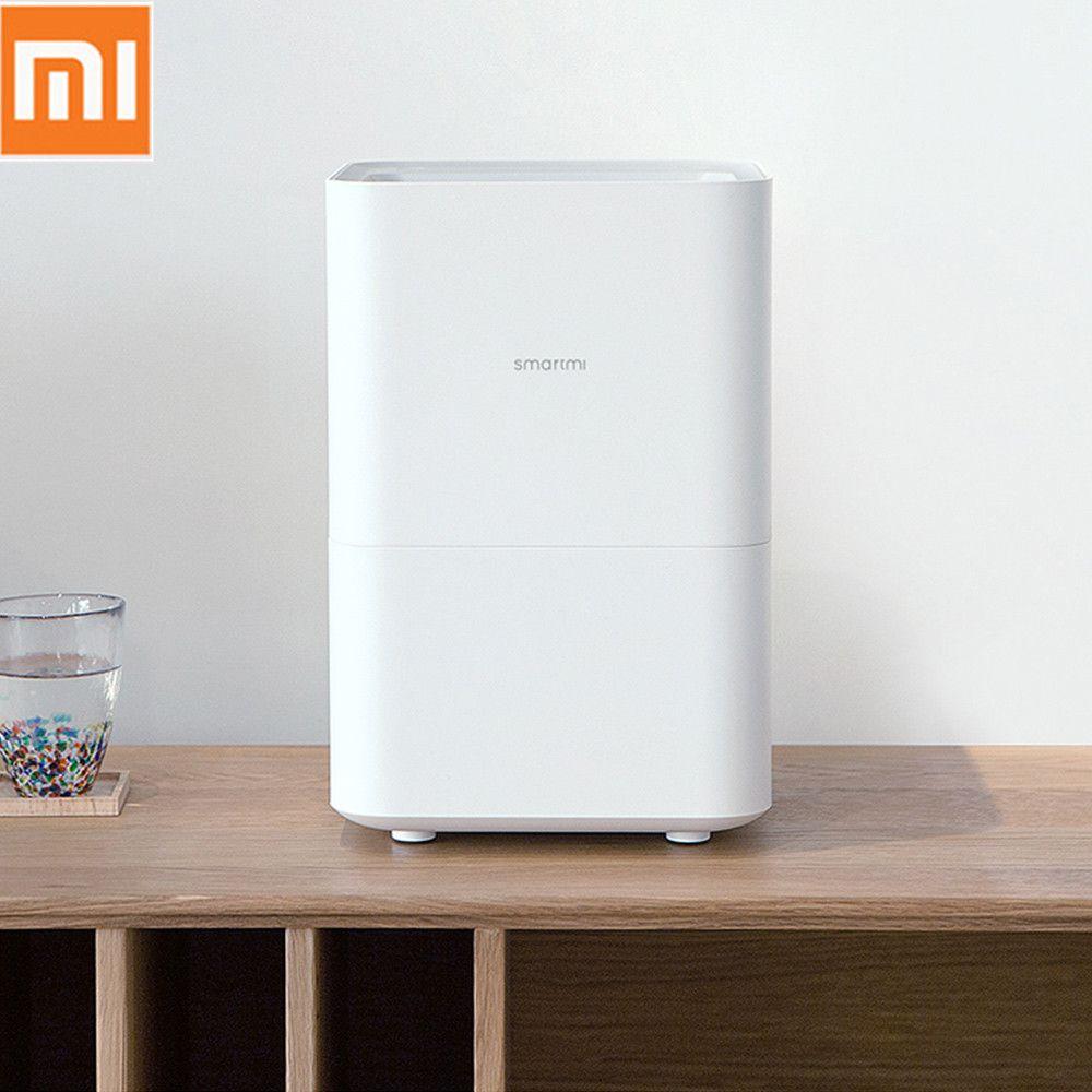 Original Xiaomi Smartmi Pure Evaporative Air Humidifier with 4L Capacity Tank Automatic Water Evaporation Mist Maker Home Office
