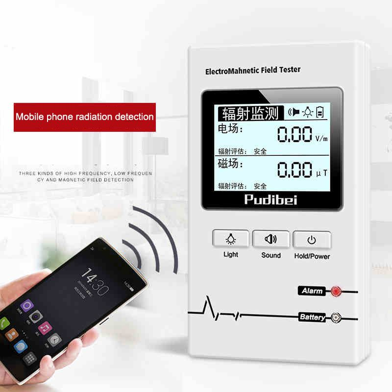 Professional Electromagnetic Radiation Detector Household High-voltage Line Radiation Measuring Instrument for Pregnant Women