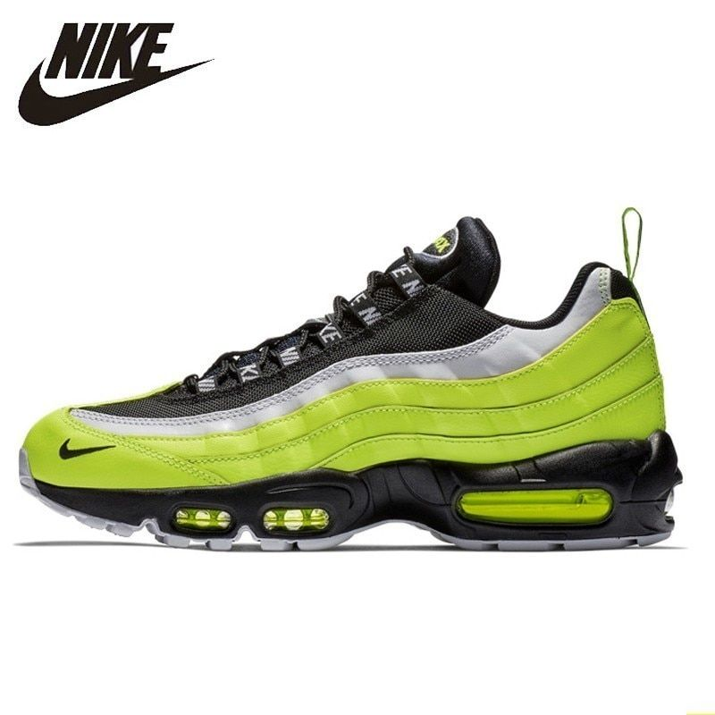Nike Air Max 95 Og Original Männer Laufende Schuh Air Kissen Wiederherstellung Alte Weisen Atmungsaktivem Turnschuhe #538416- 701